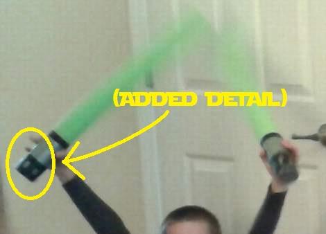 05 star wars birthday party light sabers