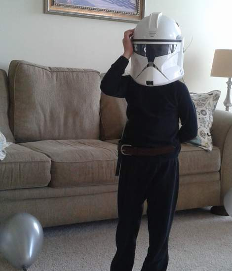 09 star wars birthday party storm trooper jedi costume