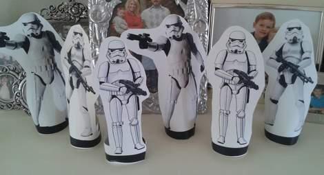 10 star wars birthday party storm trooper blast game