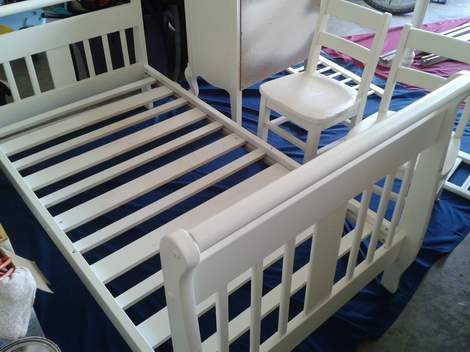 7 the big furniture paint bed
