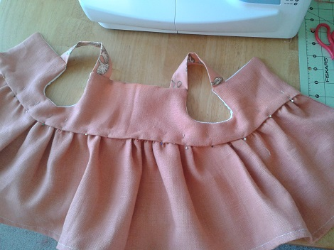 03 Sis sew new outfits melon top pinned