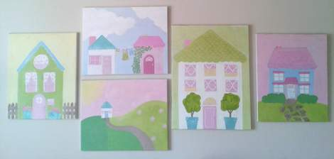 16 little girl bedroom art