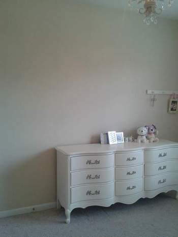 20 little girl bedroom blank wall''