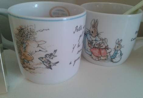 21 little girl bedroom peter rabbit cups