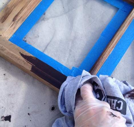05 window makeover staining