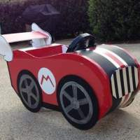Halloween Costume Adorableness: DIY Mario Cart