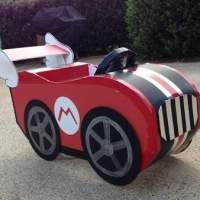Halloween Costume Adorableness: DIY Mario Cart