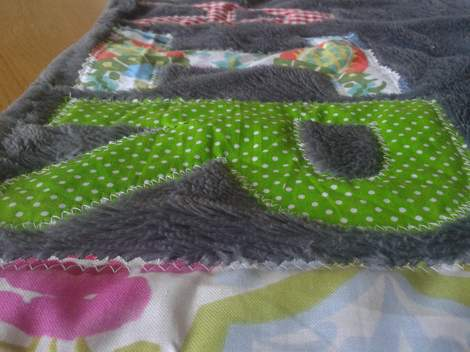 sissy personalized blanket 2