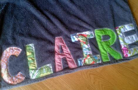 sissy personalized blanket 4