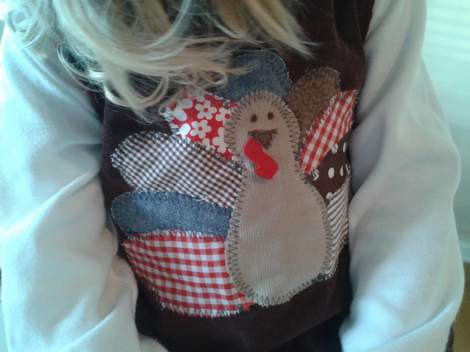 00 turkey shirt done wearing
