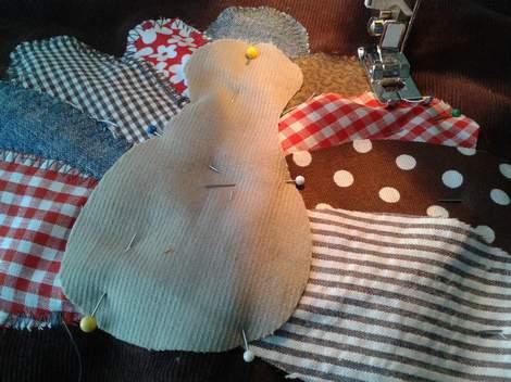 03 turkey shirt sewing