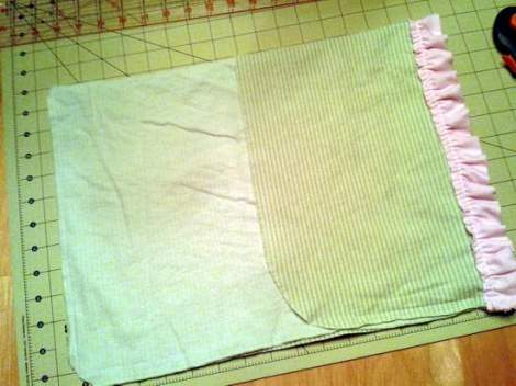 04 swaddle to pillowcase upcycle construction
