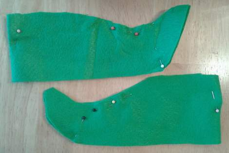 Elf Shoe Cover Pattern submited images.