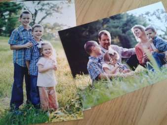 operation christmas child family photos and letter