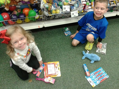 operation christmas child shopping