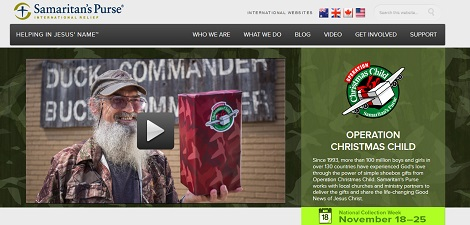 operation christmas child uncle si