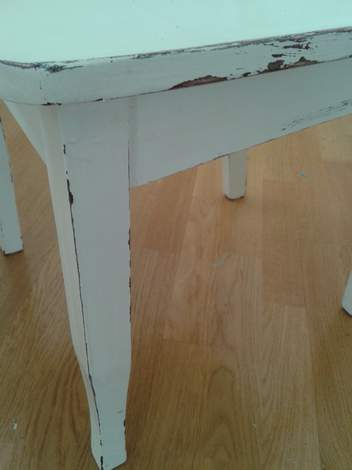 sanded chair 2