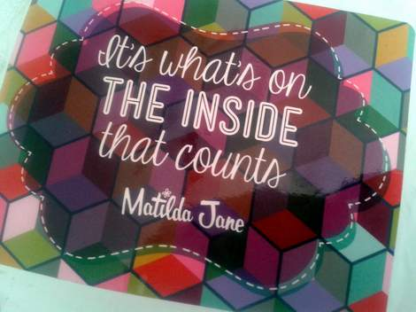 01 matilda jane it's what's inside