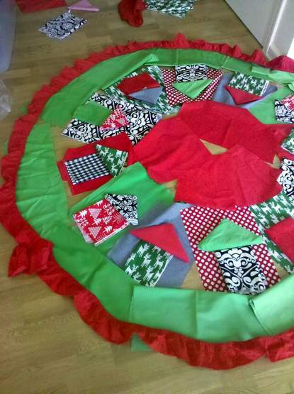 01 tree skirt brainstorming