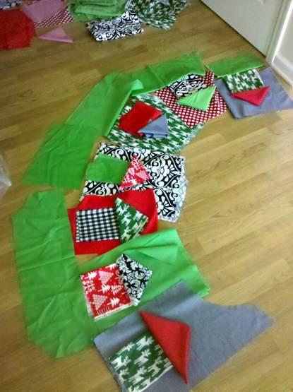 02 tree skirt fabrics