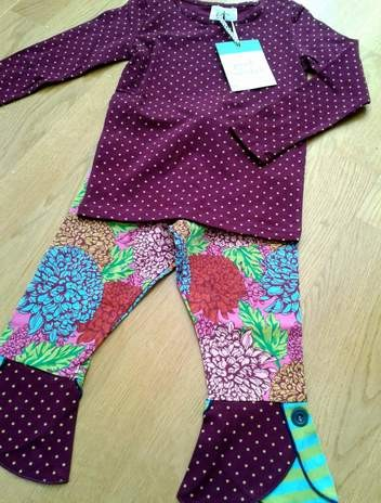 11 matilda jane stippling tee and gallery leggings