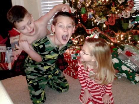 2013-12-25 Christmas kids