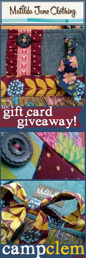 24 matilda jane giftcard giveaway