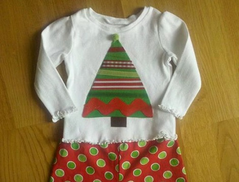 DIY Christmas shirt
