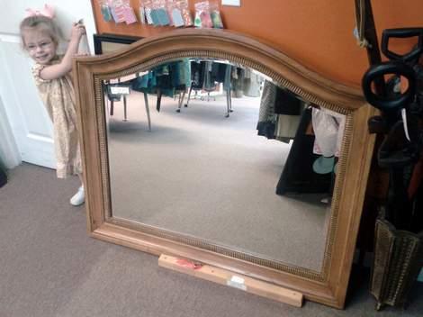 Sis curvy mirror