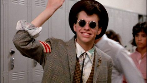 "Movie stills from ""Pretty in Pink""."