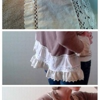 An Upcycled Love Story: Urban Outfitters Shirt + Old Navy Cardi