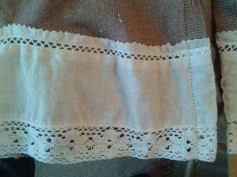 lace and cardi upcycle love 12