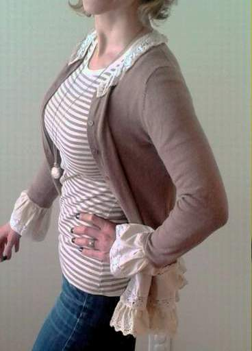 lace and cardi upcycle love 22
