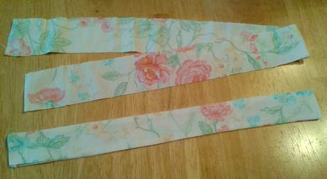 upcycled again knot top straps