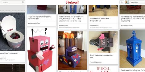 CampClem pinterest Valentines Boxes