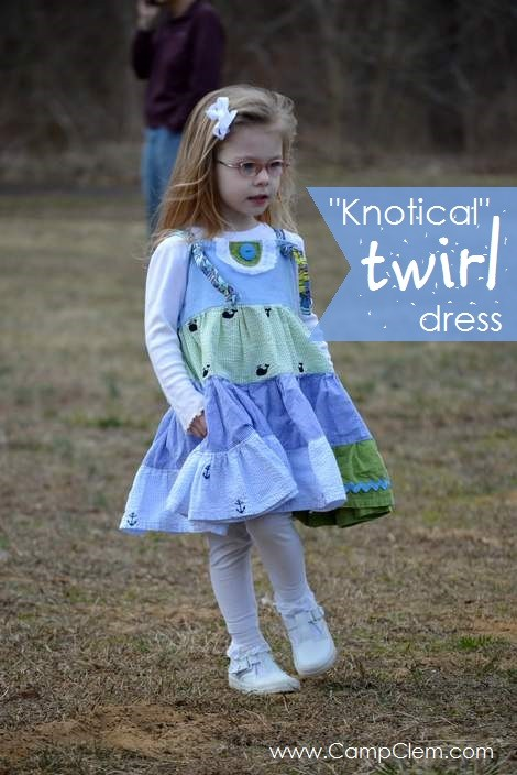 knotical twirl dress at fields 2