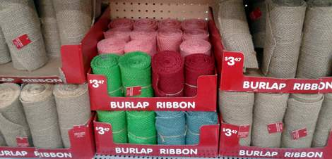 pink burlap wreath 01