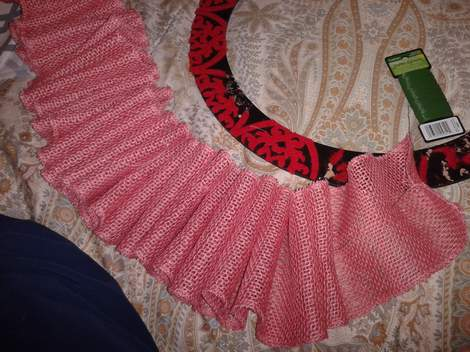 pink burlap wreath 06