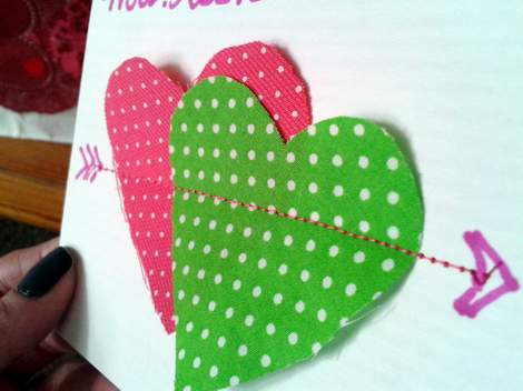 sewn heart valentine 2