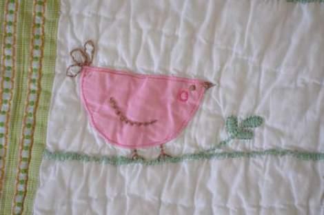 bird embroidered pillow 02