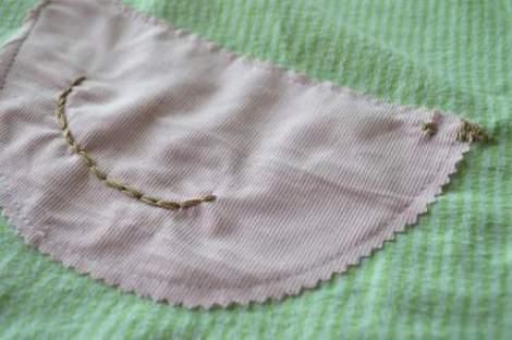 bird embroidered pillow 07