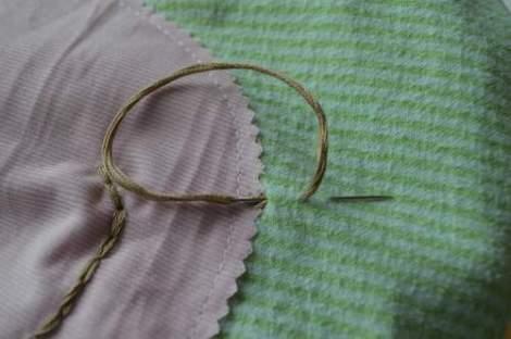 bird embroidered pillow 08