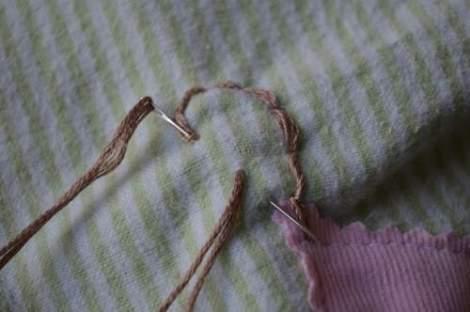 bird embroidered pillow 09