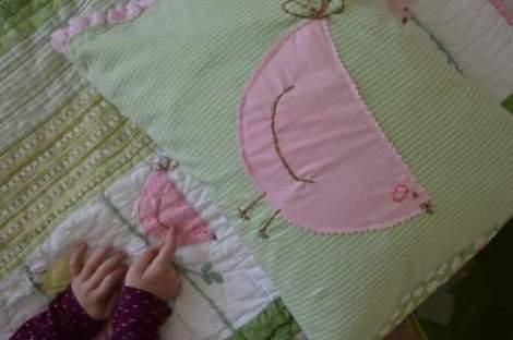 bird embroidered pillow 11