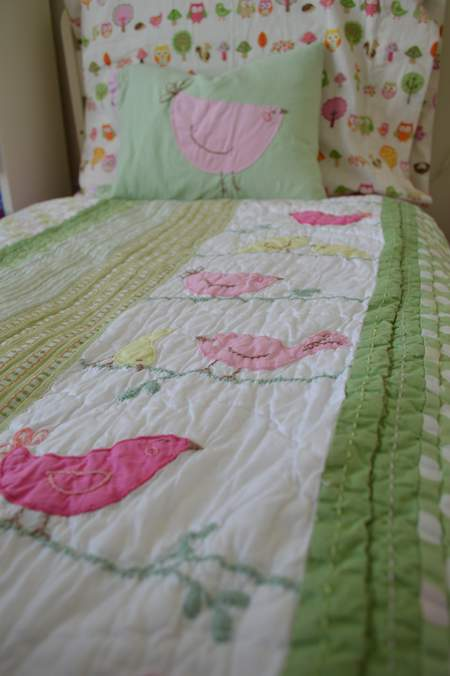 bird embroidered pillow 18
