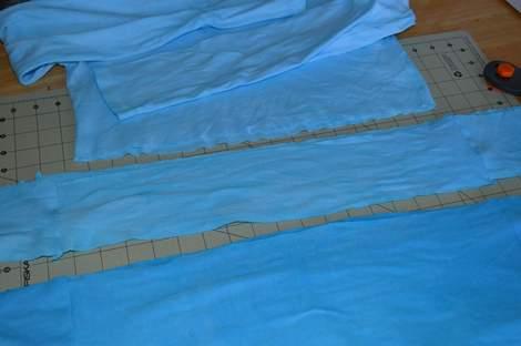 blue ombre ruffled tshirt 05