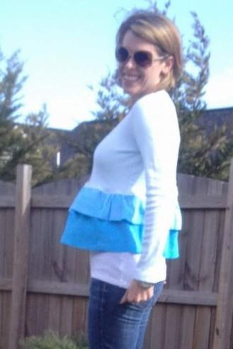 blue ombre ruffled tshirt 06