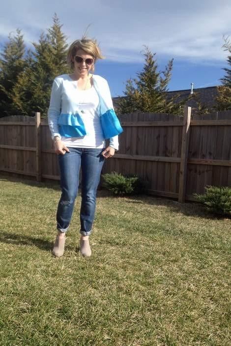 blue ombre ruffled tshirt 07