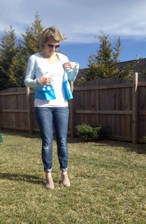 blue ombre ruffled tshirt 08