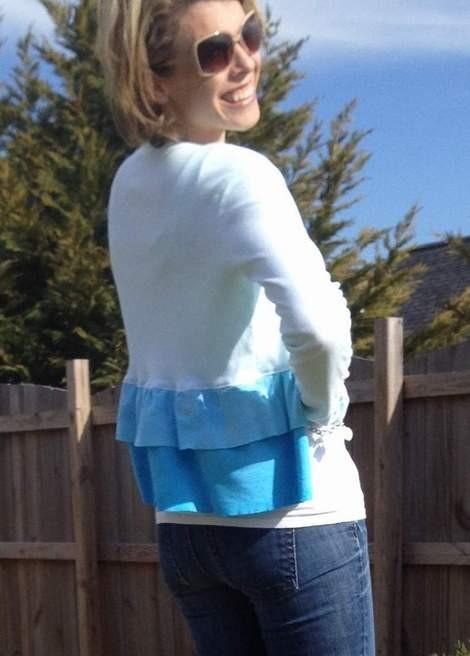 blue ombre ruffled tshirt 10